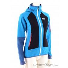 Ortovox Piz Duleda Jacket Damen Tourenjacke-Blau-S