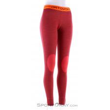Ortovox Rock'n Wool Long Damen Funktionshose-Orange-XS