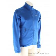 Salewa Puez Melange Full Zip Herren Outdoorsweater-Blau-S