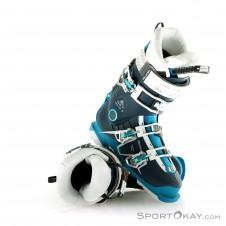 Salomon QST Pro 90 W Damen Skischuhe-Blau-23,5