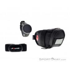 Polar Vantage V2 GPS-Sportuhr Bike Set-Schwarz-M-L