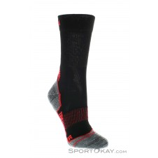 Lenz Trekking Red Socken-Schwarz-35-38