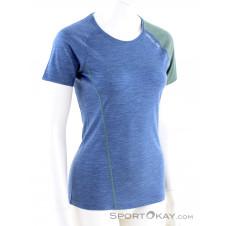Ortovox 120 Cool Tec Fast Forward Damen T-Shirt-Blau-S