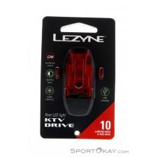 Lezyne KTV Drive 10lm Heckleuchte-Schwarz-One Size