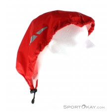 Vaude Helmet Rain Cover Helmüberzug -Rot-One Size