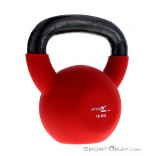 Simplyfit Pro 10kg Kettlebell-Rot-10