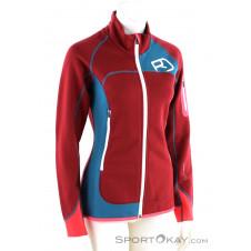 Ortovox MI Fleece Plus Damen Outdoorjacke-Rot-XS