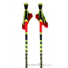 Leki WCR SL 3D Skistöcke-Rot-140