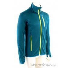 Mons Royale Approach Tech Mid Herren Sweater-Blau-M