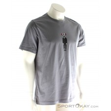 Black Diamond Cam Man Tee Herren T-Shirt-Grau-M