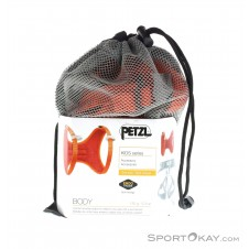 Petzl Body Kinder Brust Klettergurt-Orange-One Size