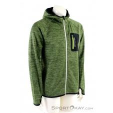 Ortovox Fleece Melange Hoody Herren Tourensweater-Grün-XL