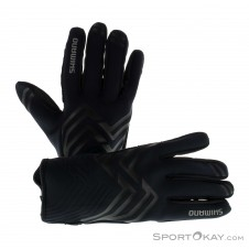 Shimano Windbreak Glove Thick Bikehandschuhe-Schwarz-M