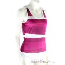 Chillaz Cielo Tanky Stripe Damen T-Shirt-Lila-34