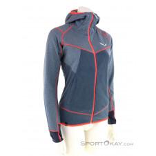 Salewa Puez Hybrid Full-Zip Damen Sweater-Blau-34