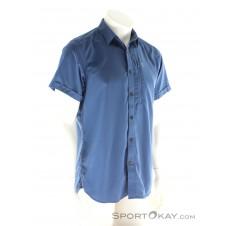 Fjällräven Abisko Hike Shirt SS Herren Outdoorhemd-Blau-S