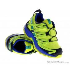 Salomon XA Pro 3D CSWP K Kinder Traillaufschuhe-Grün-26