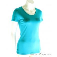 Ortovox Cool Shearing Damen T-Shirt-Blau-S