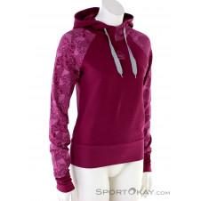 E9 Ale Hoody Damen Sweater-Pink-Rosa-S