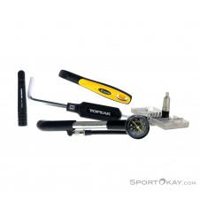 Topeak Drehmoment + Dämpferpumpe + Werkzeug Bike Tool Kit-Schwarz-One Size