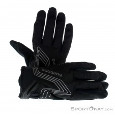 Shimano Windbreak Gloove Thin Bikehandschuhe-Schwarz-M
