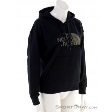 The North Face Light Drew Peak Damen Sweater-Schwarz-M