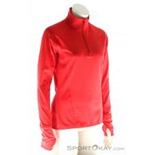 Vaude Livigno Halfzip Damen Tourensweater-Rot-36