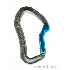 Wild Country Proton Bent Gate Karabiner-Grau-One Size