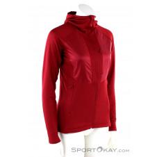 Salomon Grid Mid FZ Damen Sweater-Pink-Rosa-S