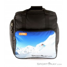 SportOkay.com Function Print Skischuhtasche-Schwarz-One Size