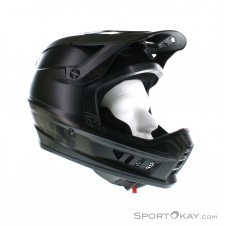 IXS XACT Downhill Helm-Schwarz-S/M