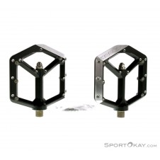 Spank Spike Flat Pedals Pedale-Schwarz-One Size