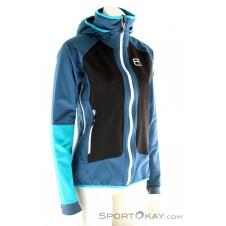 Ortovox MI Piz Duleda Jacket Damen Tourenjacke-Blau-M