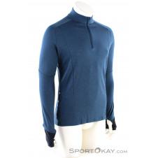 On Weather Shirt LS Herren Shirt-Blau-S