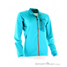 Haglöfs Lizard Q Jacket Damen Outdoorsweater-Türkis-XS