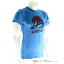 Marmot Pikes Peak SS Herren T-Shirt-Blau-S