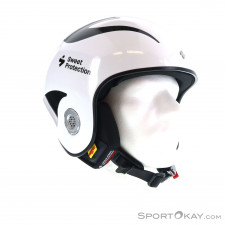 Sweet Protection Volata WC Carbon MIPS Skihelm-Weiss-M/L