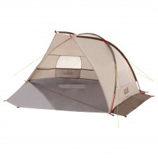 Jack Wolfskin Beach Shelter III 3-Personen Zelt-Beige-One Size