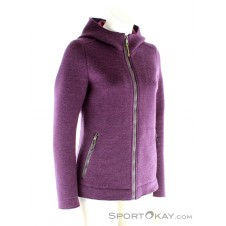Salewa Sarner 2L Full Zip Damen Outdoorsweater-Lila-S