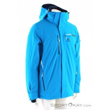 Salomon Brilliant Jacket Herren Skijacke-Blau-S