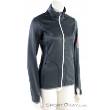 Ortovox Fleece Jacket Damen Tourensweater-Schwarz-M