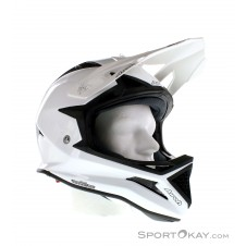 Airoh Fighters Color White Gloss Downhill Helm-Weiss-L