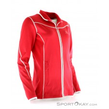 Salomon Atlantis FZ Damen Skisweater-Rot-XS