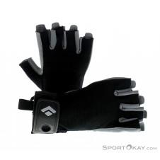 Black Diamond Crag Halbfinger Handschuhe-Schwarz-M