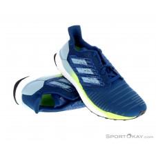 adidas Solar Boost Herren Laufschuhe-Blau-8,5