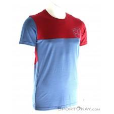 Ortovox Cool Logo Herren T-Shirt-Blau-M