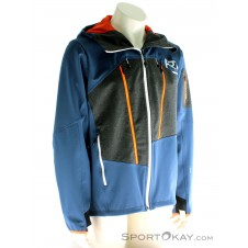 Ortovox Pordoi Jacket Herren Tourenjacke-Blau-M