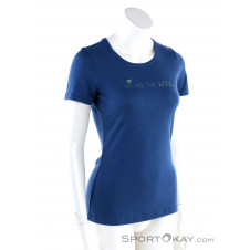 Ortovox Merino Wool 185 Damen Funktionsshirt-Blau-S