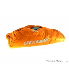 Sea to Summit Trek TKI Wide Daunen Schlafsack-Orange-Regular