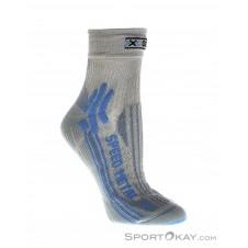 X-Socks Speed Metal Lady Socken-Blau-35-36